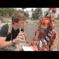 Дмитро Комаров втомив монаха-відлюдника з Катманду своїми запитаннями