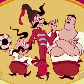 Козаки. Футбол - Португалія - Нові серії 2016 року - Український мультфільм