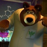 Маша и Медведь 1 сезон 30 серия. Витамин роста