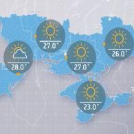 Прогноз погоди на четвер, 6 липня