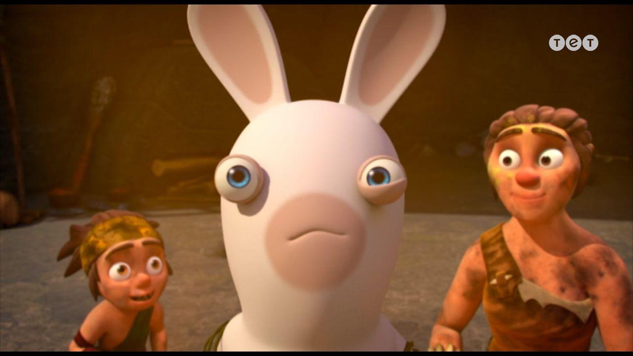 Кролик на рожні - Шалені кролики: Вторгнення. 233 серія