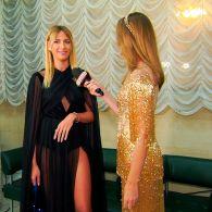 Леся Никитюк рассказала, почему пришла на красную дорожку Viva! Самые красивые с ластами в руках