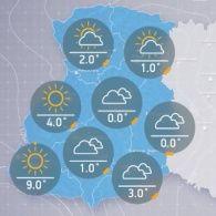 Прогноз погоди на вівторок, ранок 22 листопада