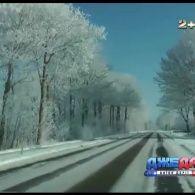 Сніг у Саудівській Аравії став несподіванкою для місцевих водіїв