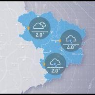 Прогноз погоди на середу, 22 лютого