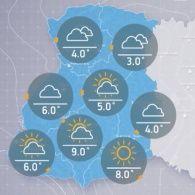 Прогноз погоди на п'ятницю, 11 листопада