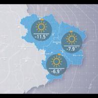 Прогноз погоди на понеділок, день 26 лютого