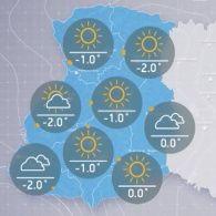 Прогноз погоди на п'ятницю, ранок  23 грудня