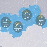 Прогноз погоди на вівторок, 17 січня