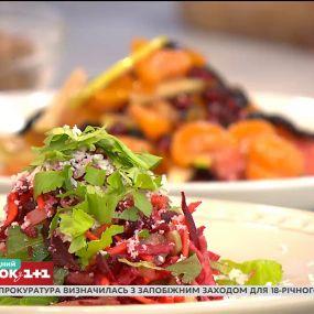 """Позбавитися зайвої ваги і почистити організм – готуємо салат """"Щітка"""""""