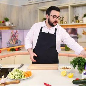 Овочева паста з морепродуктами - Рецепти Сенічкіна