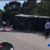 У Мексиці розбився автобус з туристами, загинуло 15 людей