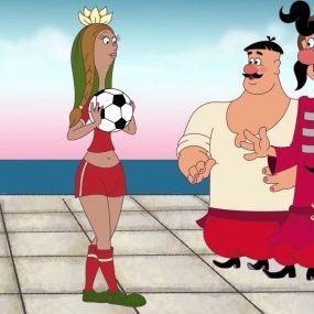 Козаки. Футбол - Данія - Нові серії 2016 року - Український мультфільм