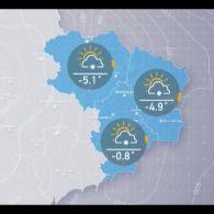 Прогноз погоди на вівторок, 13 лютого