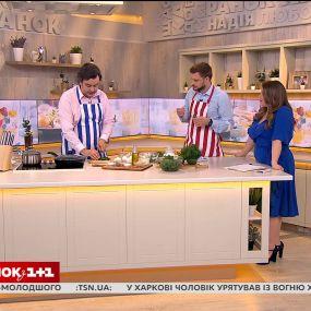 Спортивный журналист Леонид Веселков приготовил салат из крапивы и крапиву в кляре