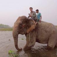 Что остается за кадром туристических поездок на слонах. Непал. Мир наизнанку - 11 серия, 8 сезон