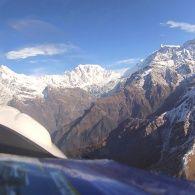 Полет над Гималаями на украинском самолете - Мир наизнанку