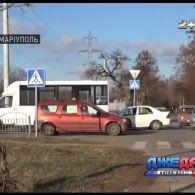 Аварія посеред окупованого Донецька