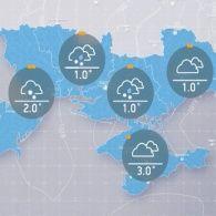 Прогноз погоди на понеділок, ранок 15 листопада