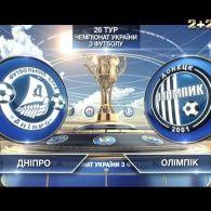 Найяскравіші моменти матчу: Дніпро - Олімпік