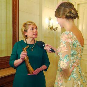 Лилия Гриневич получила премию «Женщина года» по версии журнала «Единственная»
