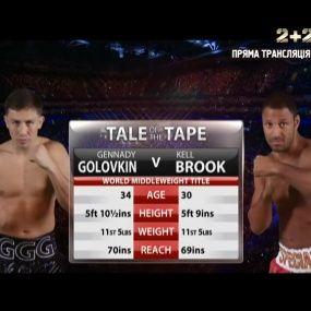 Чемпіонський бій: Геннадій Головкін проти Келла Брука