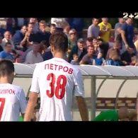 Волинь - Карпати - 1:0. Відео голу Петрова