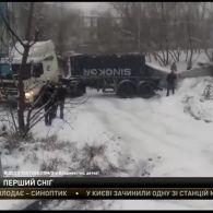 Жителі засніженого Владивостока вирішили зіграти в керлінг автомобілями