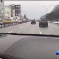 200 кілометрів на годину по підмерзлих дорогах столиці