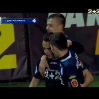 Чорноморець - Ворскла - 1:0. Відео голу Коркішка