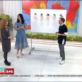Як правильно підібрати одяг з воланами по типу фігури - поради Андре Тана