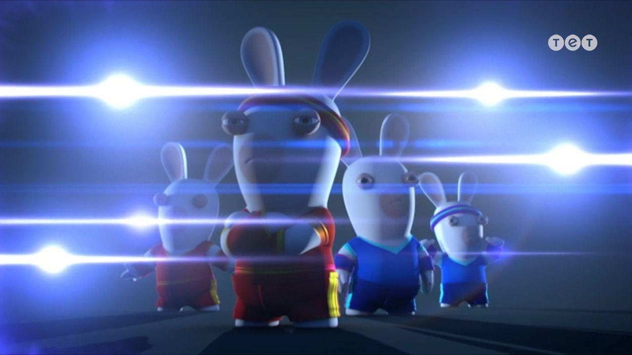 Як кролики м'яч діставали - Шалені кролики: Вторгнення. 186 серія