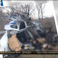 На Донеччині підірвався службовий автомобіль поліції: один загиблий, двоє поранених