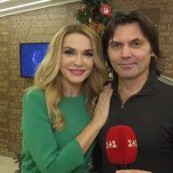 Новорічні привітання від Ольги Сумської та Віталія Борисюка