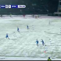 Десна - Динамо - 0:2. Як кияни через сніг проривались в півфінал Кубка України