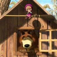 Маша и Медведь 1 сезон 31 серия. Новая метла