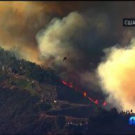 Пожежа Томас на півдні Каліфорнії вже дісталась узбережжя Тихого океану