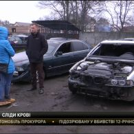 На Рівненщині знайшли автівку зі слідами крові