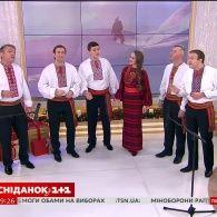 Народний хор України ім. Григорія Верьовки - Різдво іде по світу