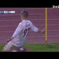 Волинь - Дніпро - 2:0. Відео голу Дудіка
