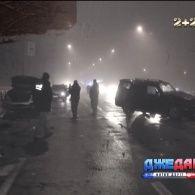 У Києві сталася масштабна аварія - постраждали чотири автівки