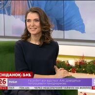 У гостях Сніданку - вокалістка, актриса та радіоведуча Мар'яна Головко