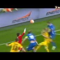 Дніпро - Металіст - 3:0. Відео голу Лучкевича