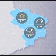 Прогноз погоди на вівторок, 23 жовтня