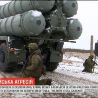 Росія розгорнула в окупованому Криму новий батальйон зенітно-ракетних комплексів С-400