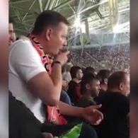 Ляшко засвітився на матчі Динамо – Шахтар: лузав насіння та кидав лушпиння на підлогу