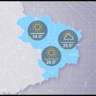 Прогноз погоди на вівторок, 14 серпня