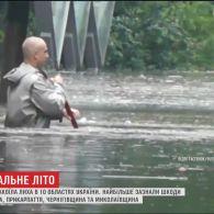 Поламані дерева та знеструмлені села: наслідки негоди в Україні