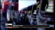 На Сумщині  вигорів автобус, який перевозив вихованців інтернату