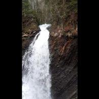 Водоспад Гук згори